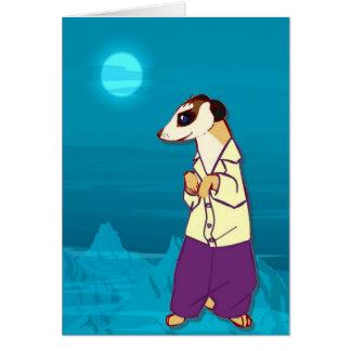 meerkats、月光のmeerkatに会って下さい カード