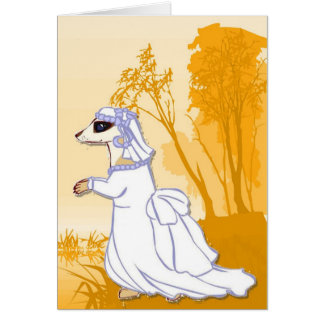 meerkats、花嫁に会って下さい カード