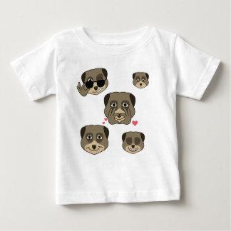 Meerketの表現 ベビーTシャツ