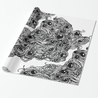 Megadoodleのクラシックな包装紙 ラッピングペーパー