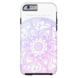 Megafloraのデザインによるピンクのパステル調の曼荼羅の箱 iPhone 6 タフケース