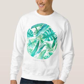 Megafloraのデザインによる熱帯葉のワイシャツ スウェットシャツ