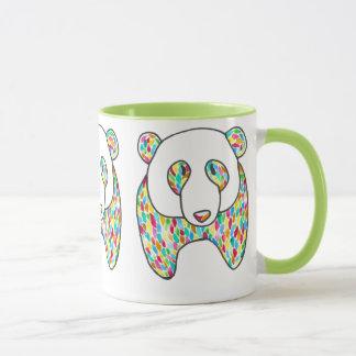 Megaflora著心地よいのパンダのコーヒー・マグ マグカップ