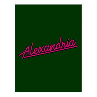 meganetaのアレキサンドリア ポストカード
