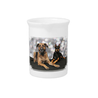 Megyanのドーベルマン犬-バークレーのマスティフX ピッチャー