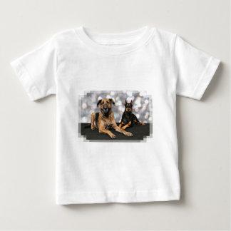 Megyanのドーベルマン犬-バークレーのマスティフX ベビーTシャツ