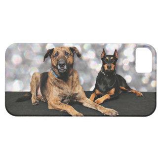 Megyanのドーベルマン犬-バークレーのマスティフX iPhone SE/5/5s ケース