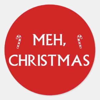 Mehのクリスマス ラウンドシール