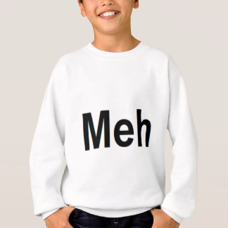 Mehの服装 スウェットシャツ