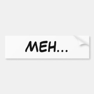 MEHの…バンパーステッカー バンパーステッカー