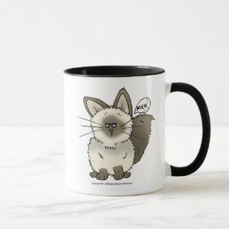 Meh猫のMug_ビールかStien_のタンブラー マグカップ