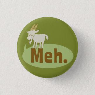 Meh (ヤギを言いました)おもしろいでしゃれているなPinbackのボタン 缶バッジ