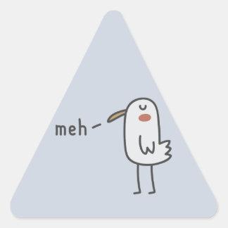 Meh 三角形シール