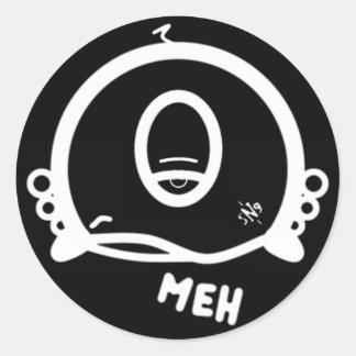 Meh (及び1つの目とのクールな円形の事) ラウンドシール
