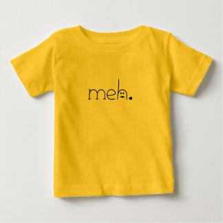 meh。 (舌と)ベビー ベビーTシャツ
