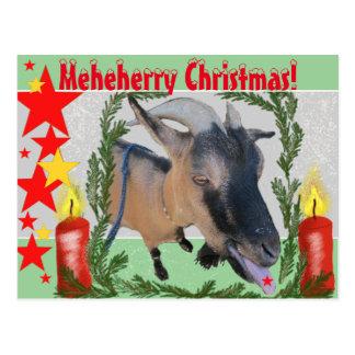 Meheherryのクリスマス! ポストカード