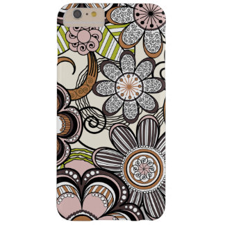 Mehndiのガーリーな花柄 Barely There iPhone 6 Plus ケース