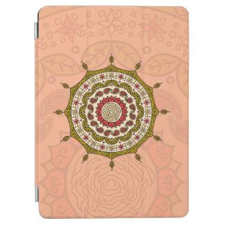 Mehndiのファンタジーの金ゴールドのiPadカバー iPad Air カバー