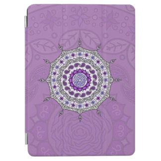 Mehndiのファンタジーの銀のiPadカバー iPad Air カバー