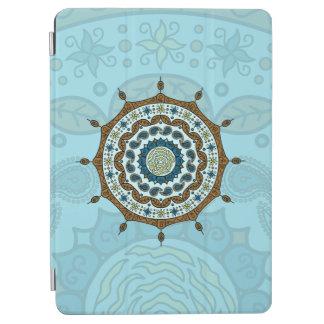 Mehndiのファンタジーの銅のiPadカバー iPad Air カバー