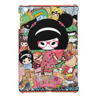 MeiMeiを特色にするMayumi亀尾市- DimSum Luv iPad Miniケース