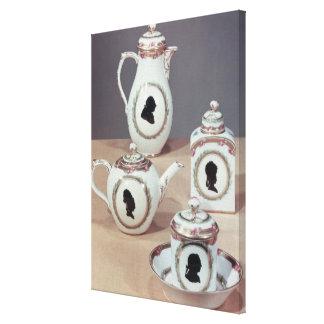 Meissenの茶サービス キャンバスプリント