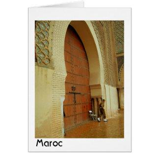 Meknes宮殿 カード