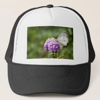 Melanargiaのlarissaの種類のアナトリアの蝶 キャップ