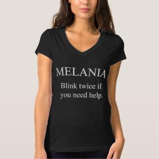 MELANIAの二度きらめき! Tシャツ