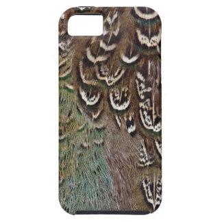 Melanisticのキジの羽の詳細 iPhone SE/5/5s ケース