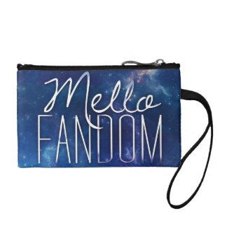 Melloのファンのクラッチ・バッグ コインパース