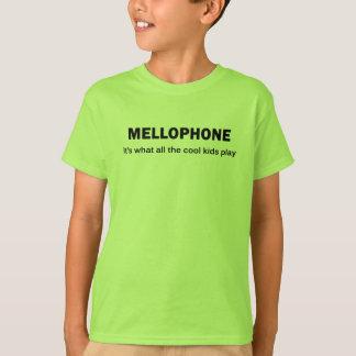 MELLOPHONE. それはクールな子供全員が遊ぶものです Tシャツ