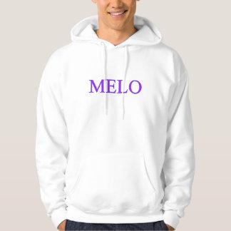 Meloのフード付きスウェットシャツ パーカ