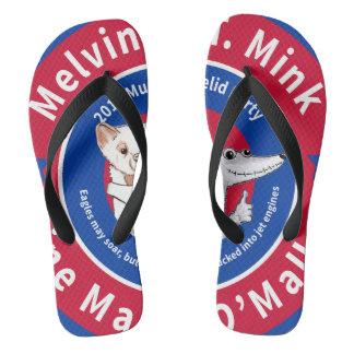 Melvin T. Minkのビーチサンダル ビーチサンダル