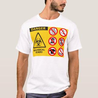 Memeticの生物学的災害[有害物質] Tシャツ