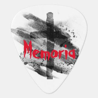 Memoriaのギターピック ギターピック