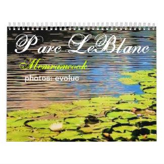 Memramcook/Parc LeBlanc カレンダー