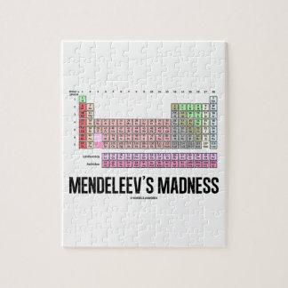 Mendeleevの狂気(要素の周期表) ジグソーパズル