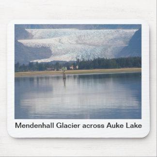 Mendenhallの氷河およびAuke湖 マウスパッド