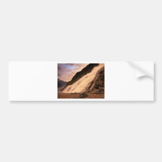 Mendenhallの氷河滝 バンパーステッカー