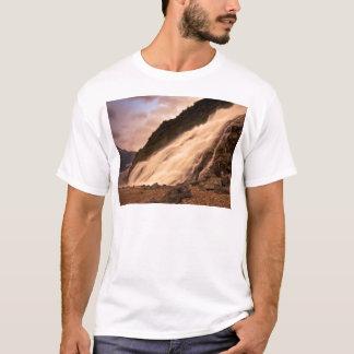 Mendenhallの氷河滝 Tシャツ