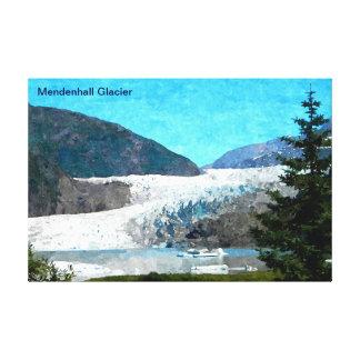 Mendenhallの氷河 キャンバスプリント