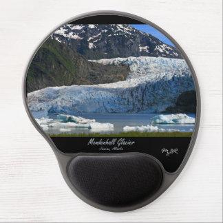 Mendenhallの氷河/ジュノーアラスカ ジェルマウスパッド