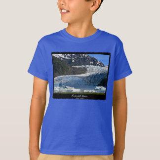 Mendenhallの氷河/ジュノーアラスカ Tシャツ