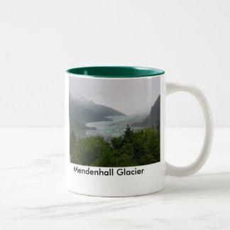 Mendenhallの氷河 ツートーンマグカップ