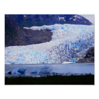 Mendenhallの氷河 ポスター