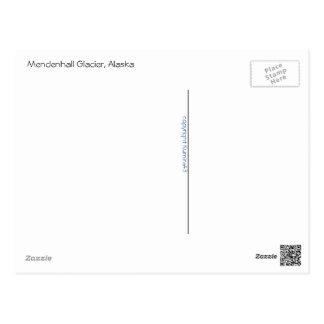 Mendenhallの氷河 ポストカード