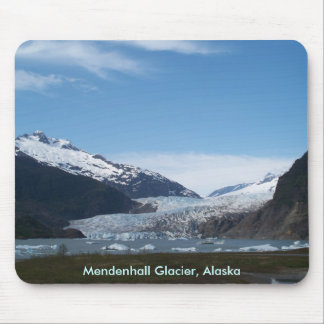 Mendenhallの氷河 マウスパッド