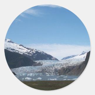Mendenhallの氷河 ラウンドシール