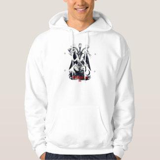 Mendesのフード付きスウェットシャツのヤギ パーカ